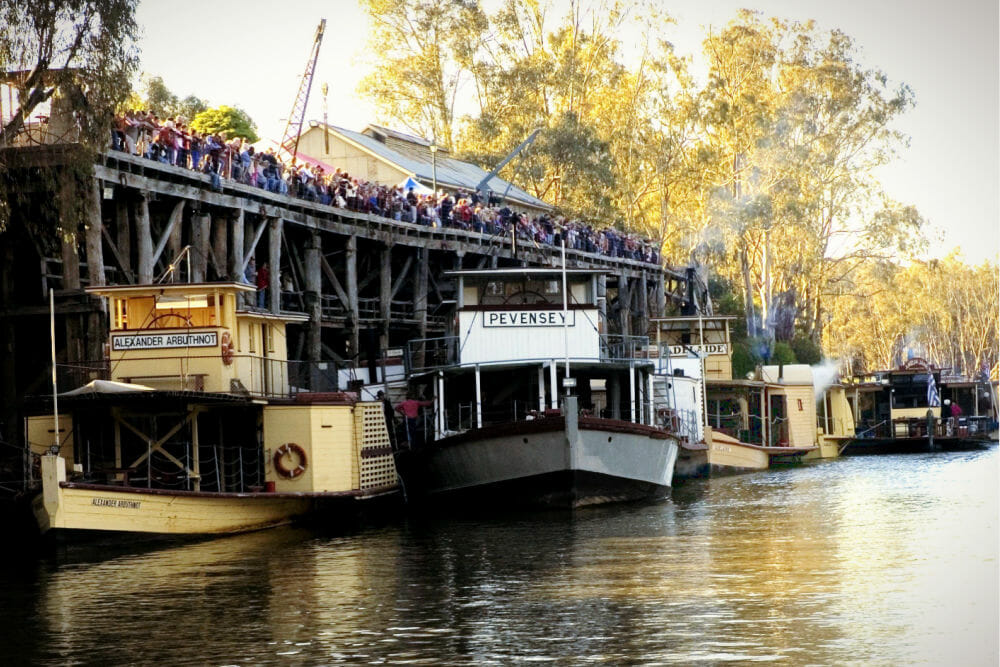 Echuca Paddle Steamers